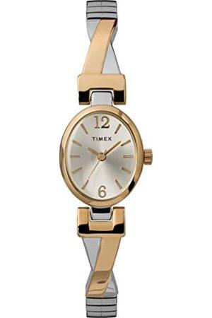 Timex Women's Fashion Stretch Bangle 21 mm Expansion Band Watch TW2U12100