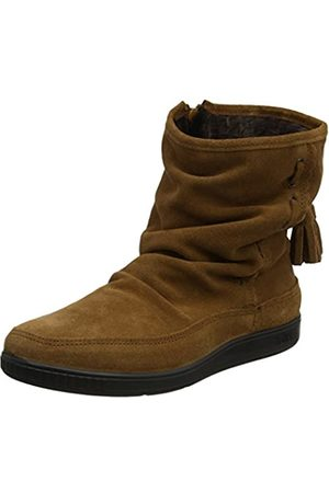 Hotter Women's Pixie Moccasin Boots, (Rust)