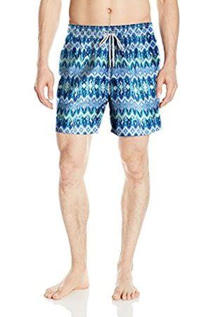 Ondademar Men's Sea Fit Pattern Volley Swim Trunk