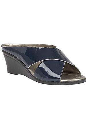 Lotus Women's Trino Open Toe Sandals, (Navy Ep)