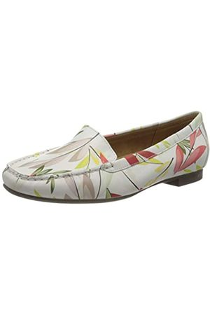 Sioux Women's Zalla Mocassins, (Weiss-Bunt 009)