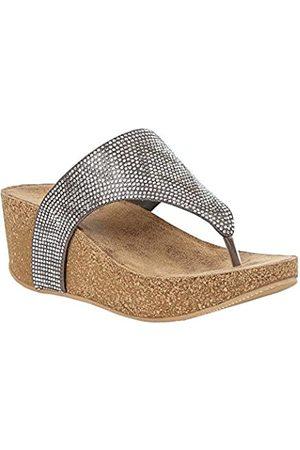 Lotus Women's Patsy Open Toe Sandals, (Pewter Jj)