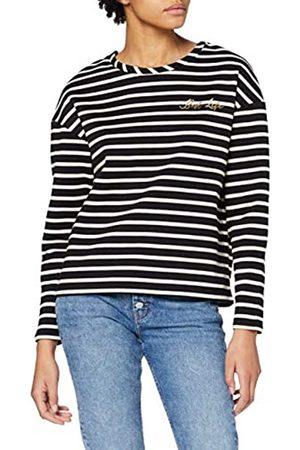 Dorothy Perkins Women's Long Sleeve Best Life Organic Stripe Sweat Sweatshirt