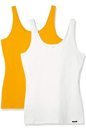 Skiny Women's Damen Tank Top 2er Pack Advantage Cotton Vest