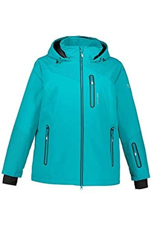 Ulla Popken Women's Skijacke Carbon Optik Jacket Jacket
