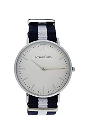 Andreas Osten Unisex-Adult Analogue Classic Quartz Watch with Nylon Strap AO-58