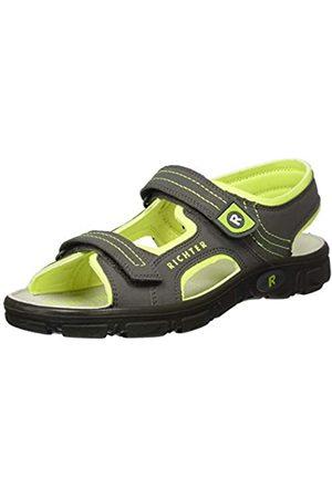 Richter Kinderschuhe Men's Adventure Ankle Strap Sandals, (Pebble/Neon 6611)