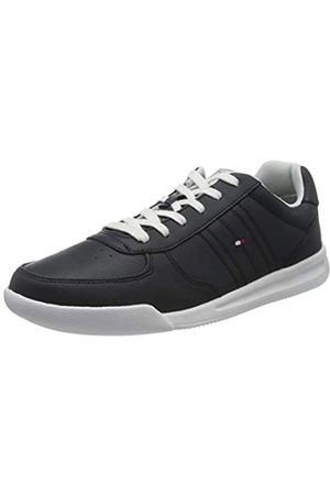 Tommy Hilfiger Men's Lightweight Leather Sneaker Low-Top, (Desert Sky Dw5)