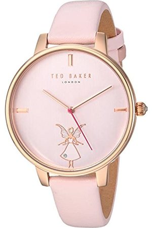 Ted Baker London Ted Baker Women's Analog Quartz Watch with Leather Strap TE15162004