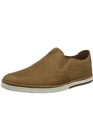 Rockport Men's Austyn Slipon Summer Shoe Espadrilles, (Caramel 004)