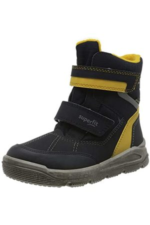Superfit Mars, Boys'Snow Boots, (Blau/Gelb 80)