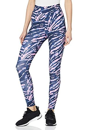 Urban classics Women's Leggings Ladies High Waist Tie Dye Hose Dress Pants