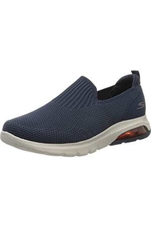 Skechers Men's GO Walk AIR Airflow Trainers, (Navy Textile/Trim NVY)