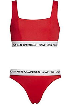 Calvin Klein Girl's Bralette Bikini Set Swimwear