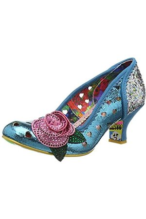 Irregular Choice Women's Biscuit Tin Closed Toe Heels, ( A)