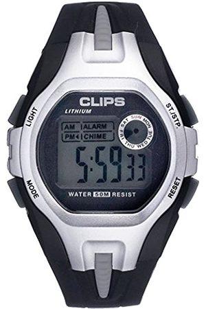 Clips Men's Quartz Watch 539-6001-84 with Rubber Strap