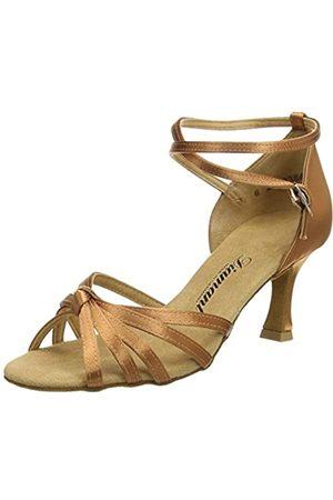 Diamant Women's Latein 109-087-379 Damen Tanzschuhe-Standard & Latein Ballroom Dance Shoes, (Dark Tan)