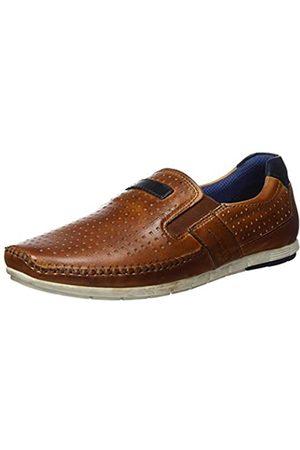 bugatti Men's 321700614100 Loafers, (Cognac 6300)