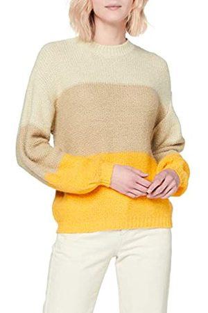 Pieces Women's Pcjasmin Ls High Neck Knit Pb Pullover Sweater