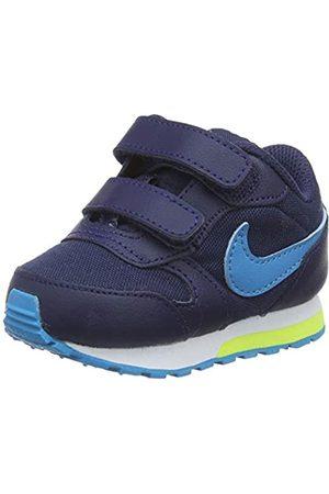 Nike Unisex Babies' Md Runner 2 (td) Gymnastics Shoes, Midnight Navy/Laser /Lemon Venom