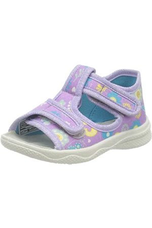 Superfit Girls' Polly Hi-Top Slippers, (Lila 90)