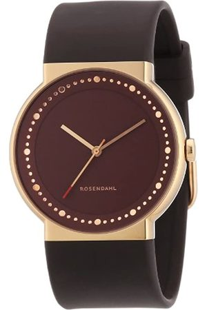 Rosendahl Men's Watch IV 43254 With and Rose Gold Dial Polyurethane Strap IP Rose Gold Case