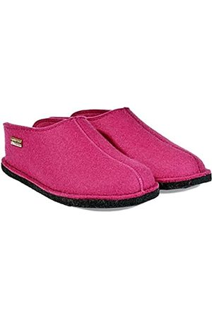 Haflinger Unisex Adults' Flair Soft Open Back Slippers, (Fuchsia 34)