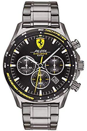 Scuderia Ferrari Men's Analogue Quartz Watch with Stainless Steel Strap 0830715