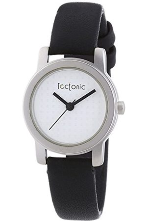 Tectonic Women's XS Analog Leather Quartz Wristwatch with Dial and Leather Strap 41-1108-14