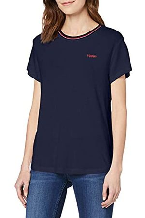 Tommy Jeans Women's TJW Rib Neck TEE Sports Knitwear