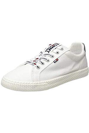 Tommy Jeans Women's Casual Sneaker Low-Top, ( 100)