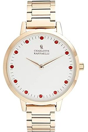 Charlotte Raffaelli Unisex Adult Analogue Automatic Watch with Stainless Steel Strap CRS008