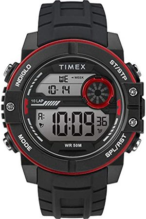 Timex Men's DGTL Sphere 45 mm Chrono Silicone Strap Watch TW5M34800