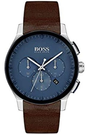 Hugo Boss Men's Analogue Quartz Watch with Leather Strap 1513760