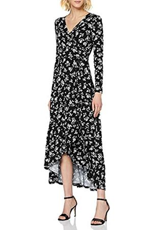 Dorothy Perkins Women's Floral Long Sleeve Wrap Dress Casual