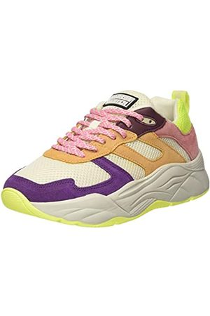 SCOTCH & SODA FOOTWEAR Women's Celest Low-Top Sneakers, (Amber Multi S304)