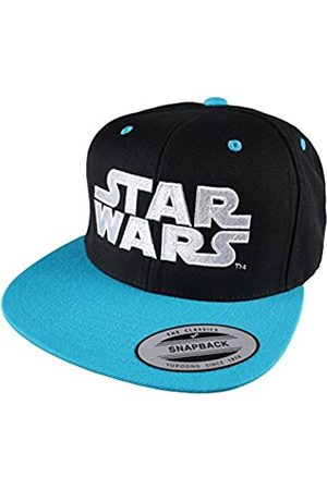 Star Wars Men's Logo Flat Cap, Black/