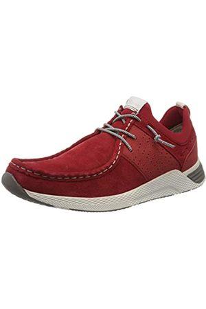Sioux Men's Grash-h201-47 Low-Top Sneakers, (Rosso 005)