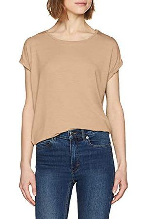 Vero Moda Women's Vmava Plain Ss Top Ga Color T-Shirt
