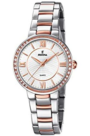 Festina Womens Analogue Classic Quartz Watch with Stainless Steel Strap F20221/1