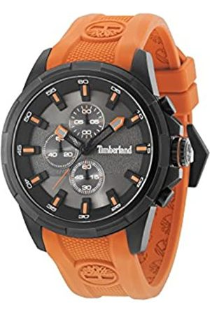 Timberland Mens Chronograph Quartz Watch with Silicone Strap 15253JSB/61P