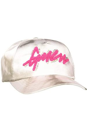Guess Women's Satin Logo Baseball Cap