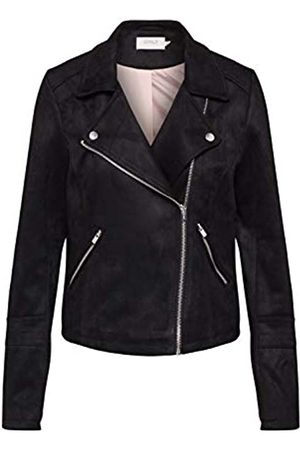 Only Women's Onlgerry Faux Suede Biker OTW Leather Jacket