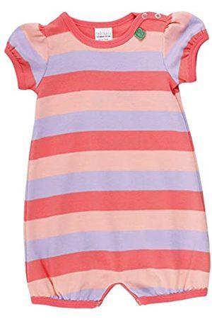 Green Cotton Baby Girls' Multi Stripe Beach Body Shaping Bodysuit
