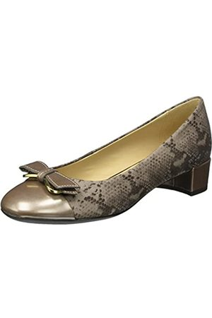 Geox Women's D Carey A Closed-Toe Pumps, (Taupe)