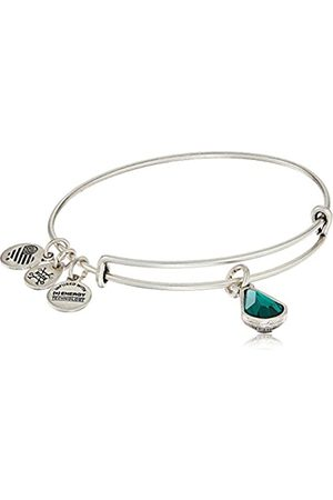 Alex and Ani May Birth Month Charm with Swarovski Crystal Rafaelian Bangle Bracelet