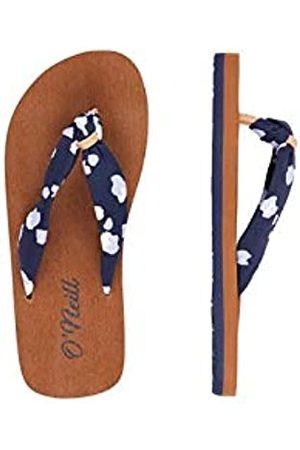 O'Neill Girls' Fg Woven Strap Sandalen Flip Flops, ( AOP W/ 5950)