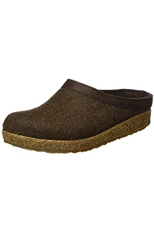 Haflinger Unisex Adult Grizzly Torben Slippers, (Chocolate 552)