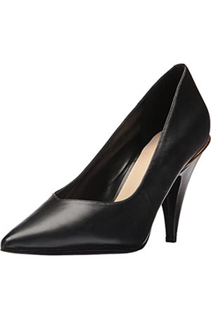 Nine West Women's Whistles Leather Pump, ( Calf)