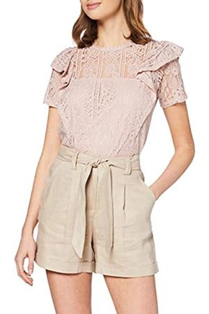 New Look Women's T Lace Frill Tee Shirt